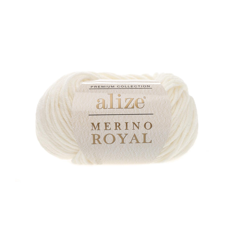 Alize Merino Royal молочный 62