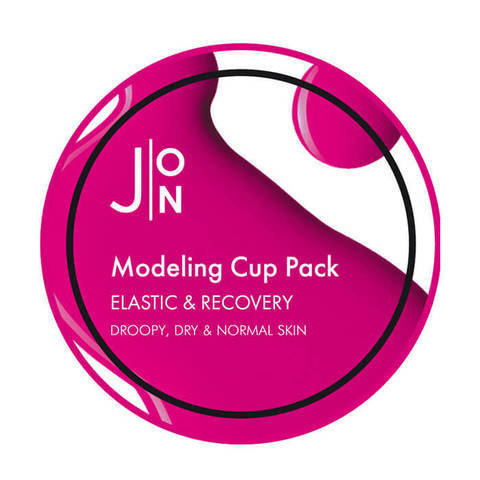 J:ON Альгинатная маска ЭЛАСТИЧНОСТЬ И ВОССТАНОВЛЕНИЕ ELASTIC & RECOVERY MODELING PACK 18гр