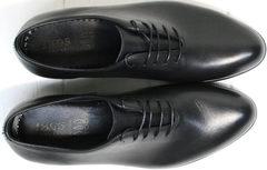 Классические мужские туфли под костюм Ikoc 063-1 ClassicBlack.