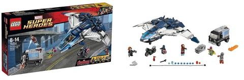 LEGO Super Heroes: Погоня на квинджете Мстителей 76032 — The Avengers Quinjet City Chase  — Лего Супергерои Мстители