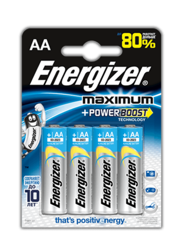 Батарейки Energizer Maximum LR6, AA (4/96) BL