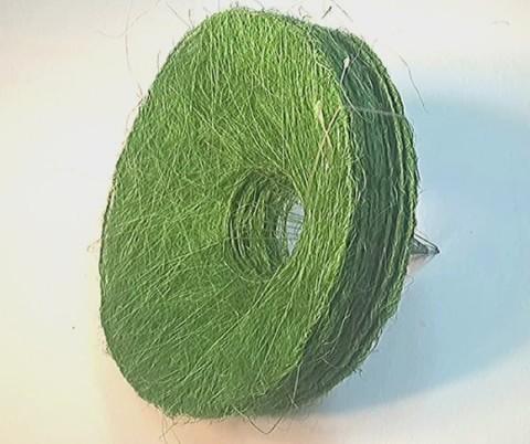 Каркас сизаль круглый (d=30 см.) Зеленый цвет 1шт.
