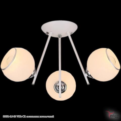08051-0.3-03 WH+CR светильник потолочный