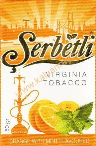Serbetli Orange with mint