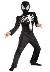 Человек паук костюм детский с мускулами Веном