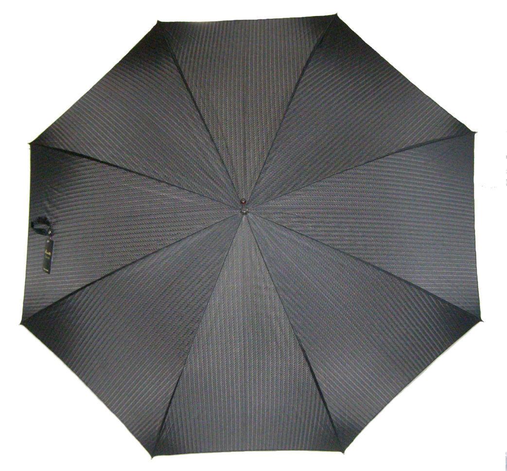 Pasotti мужской зонт-трость с дизайнерской ручкой в форме шахматного коня