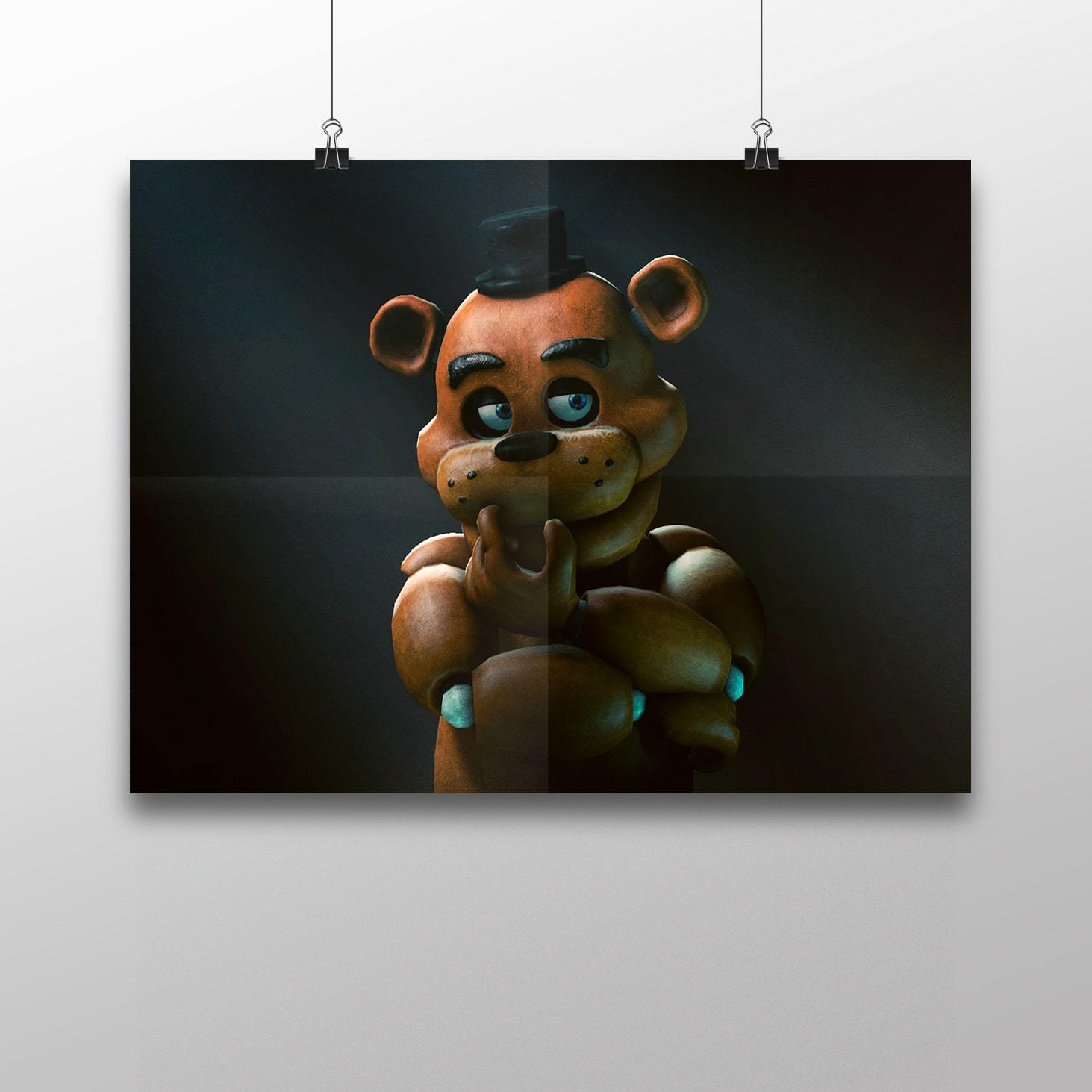 Плакат с Фредди №1 - купить в интернет-магазине kinoshop24.ru