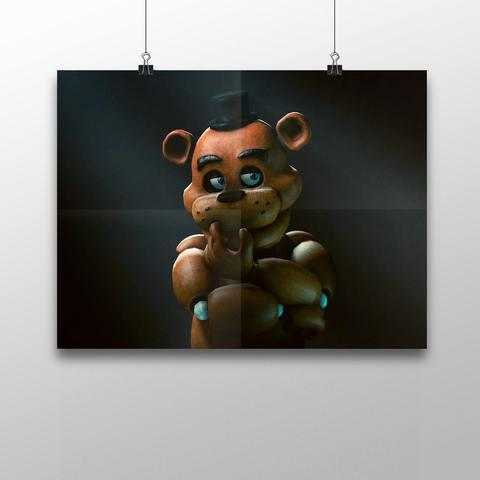 Плакат с Фредди №1