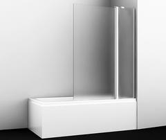 Шторка для ванны WasserKRAFT Berkel 48P02-110RM распашная правосторонняя, матовое стекло