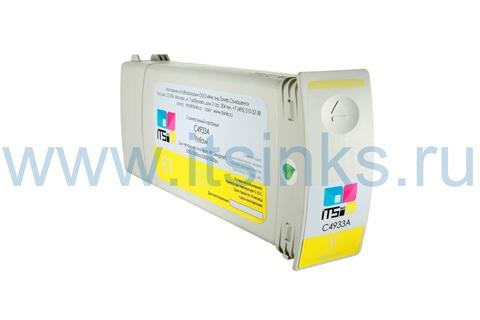 Картридж для HP 81 (C4933A) Yellow 680 мл