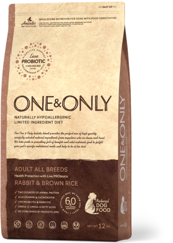 One&Only Adult All Breeds Rabbit & Brown Rice