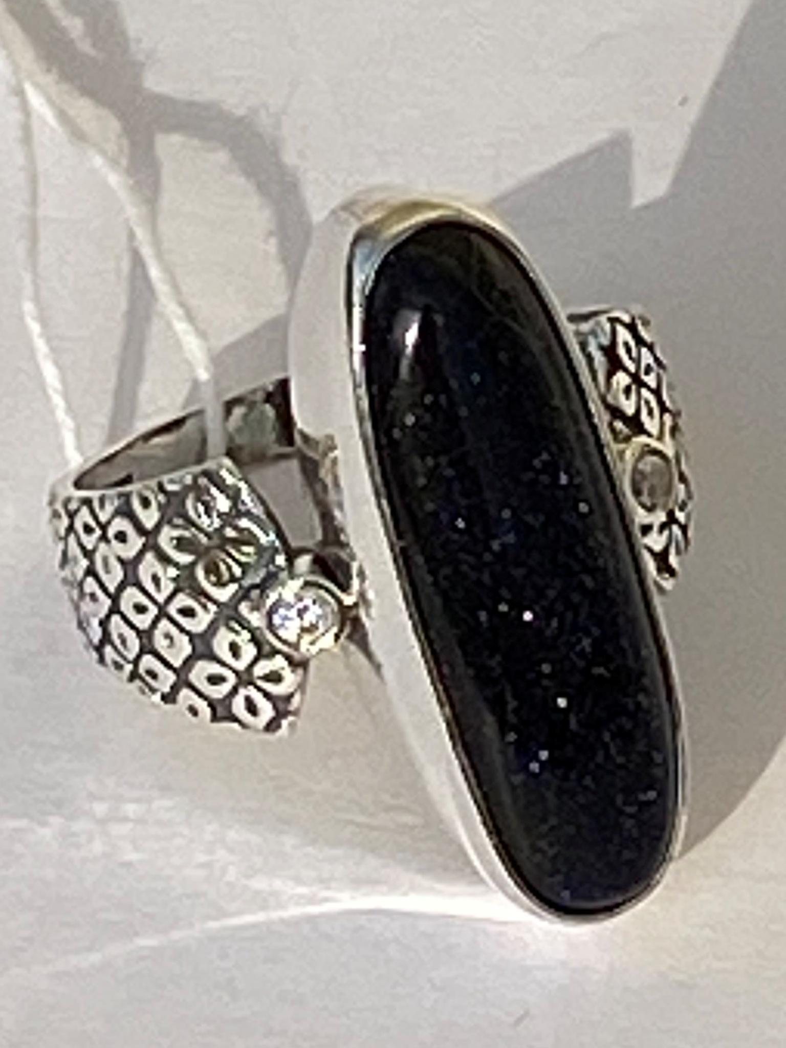 Агнета (кольцо из серебра)