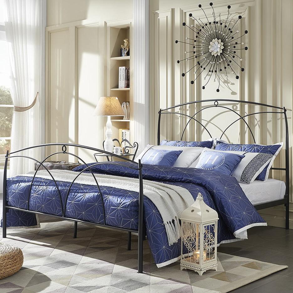 Кровать ESF TDF8002 черная