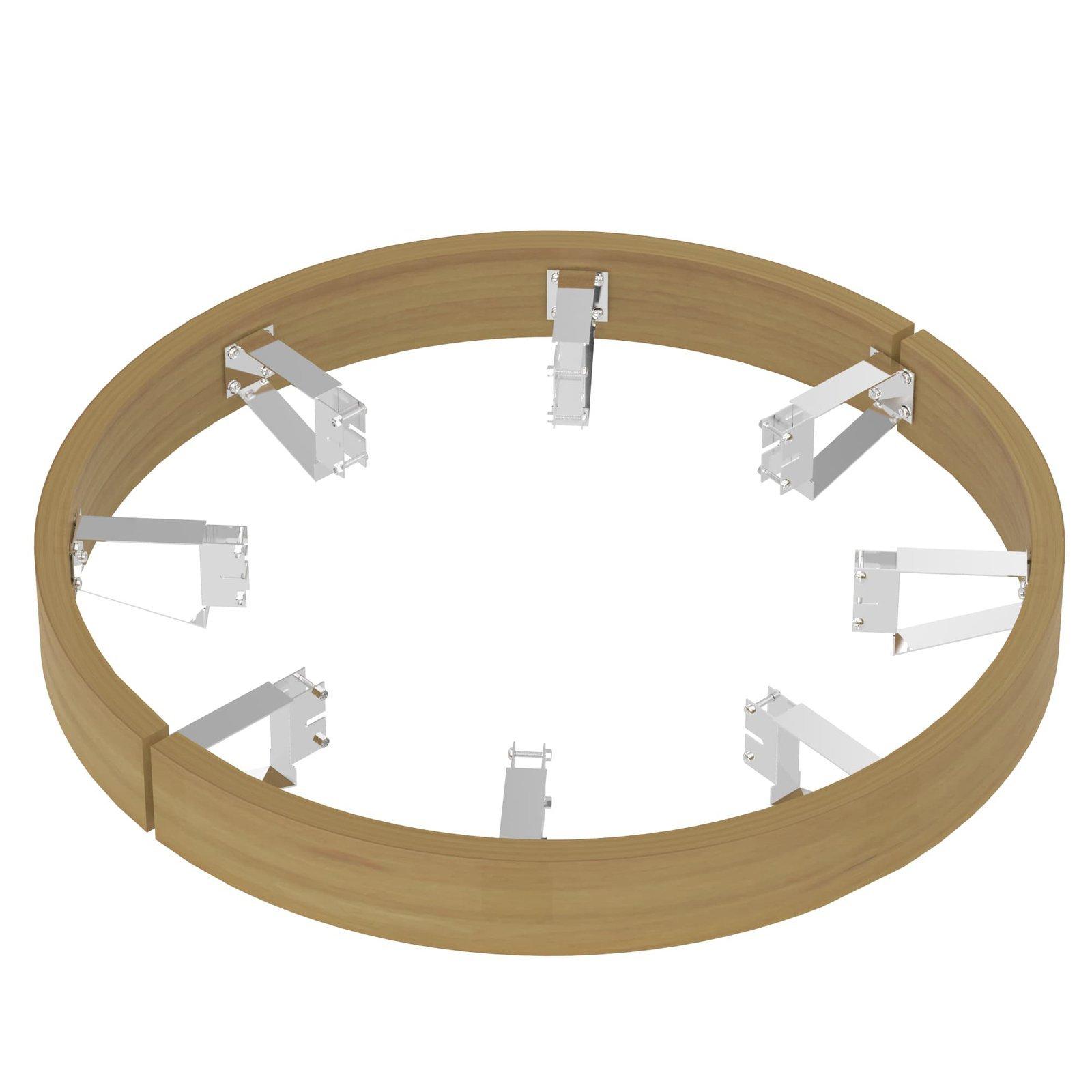 Ограждения и коврики: Деревянное ограждение SAWO TH-GUARD-W12-D (для печи TOWER TH12)