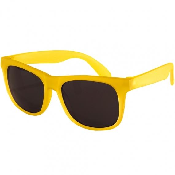 Детские солнцезащитные очки Real Kids Switch 4-7 лет желтый/оранжевый