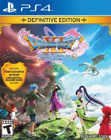 PS4 Dragon Quest XI S: Definitive Edition (русская документация)