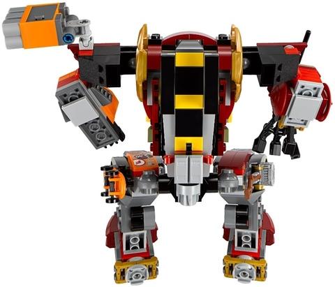 LEGO Ninjago: Робот-спасатель 70592 — Salvage M.E.C. — Лего Нидзяго