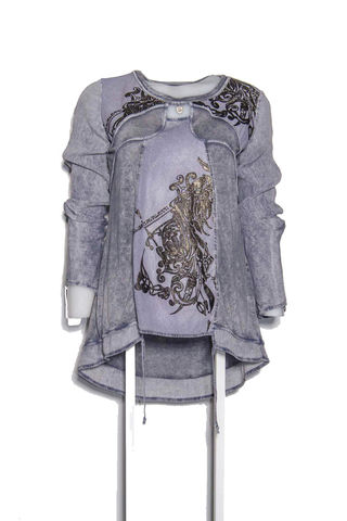 Блуза голубая Elisa Cavaletti арт. EJW185029801