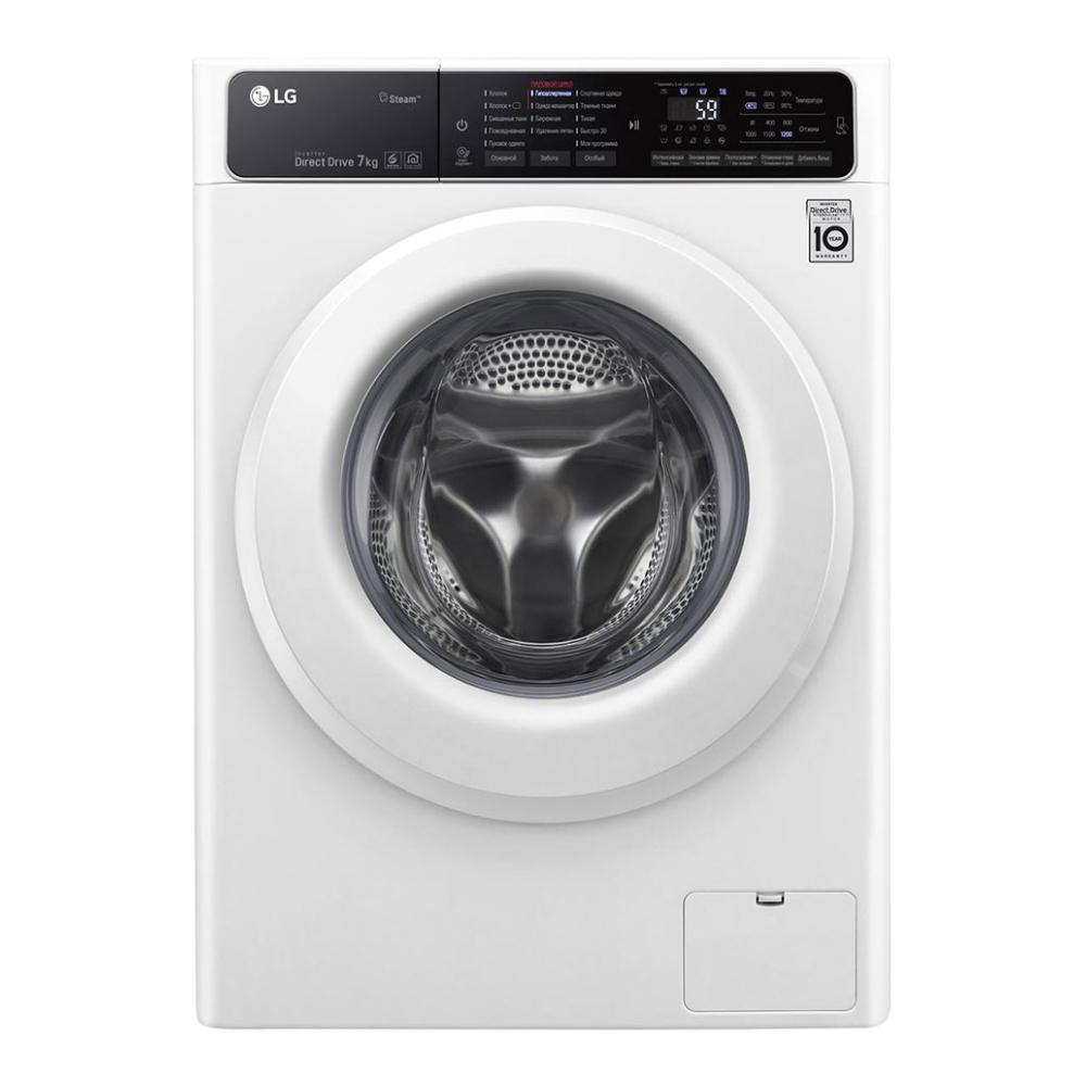 Узкая стиральная машина LG с функцией пара Steam F2H5HS3W фото