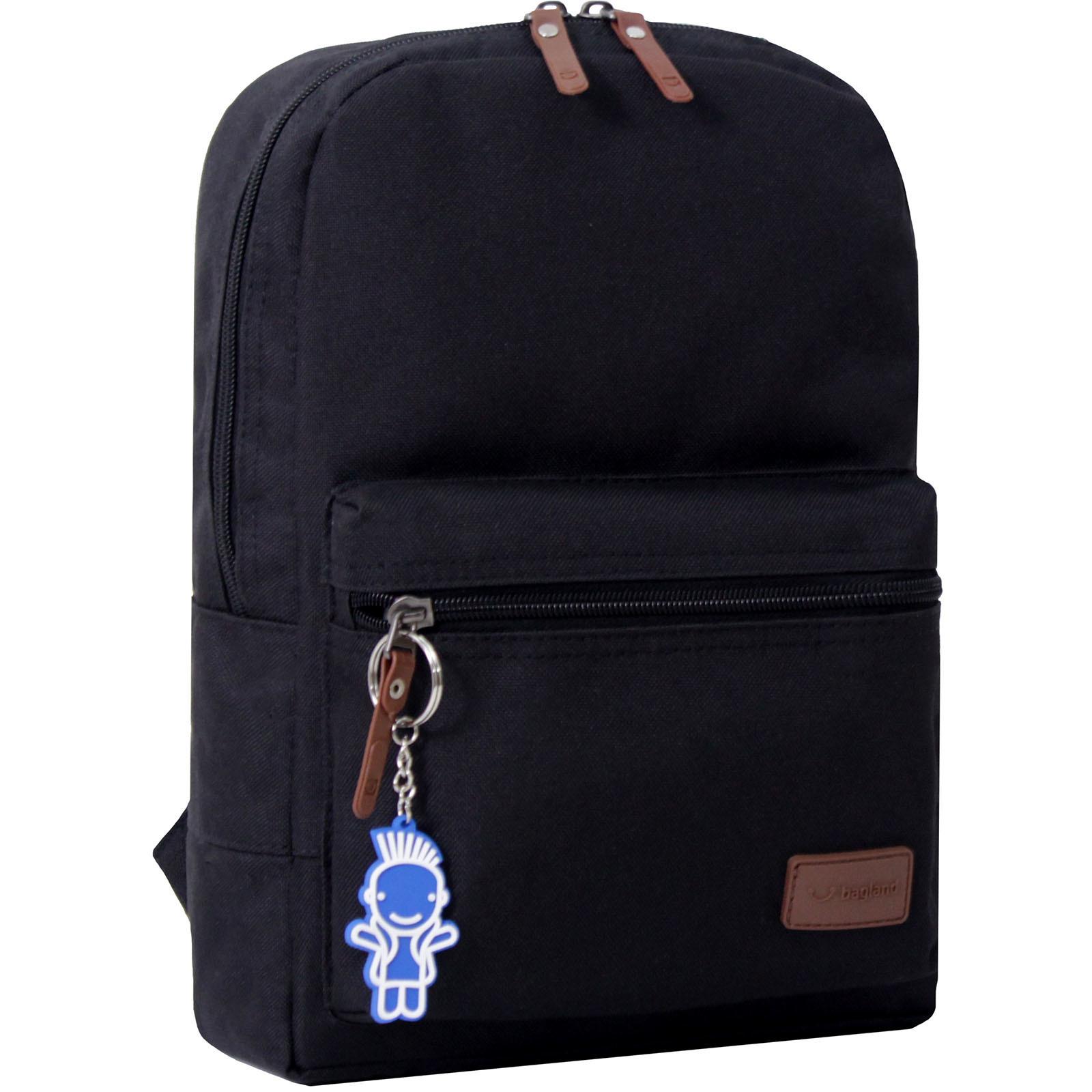 Детские рюкзаки Рюкзак Bagland Молодежный mini 8 л. черный (0050866) IMG_179.JPG