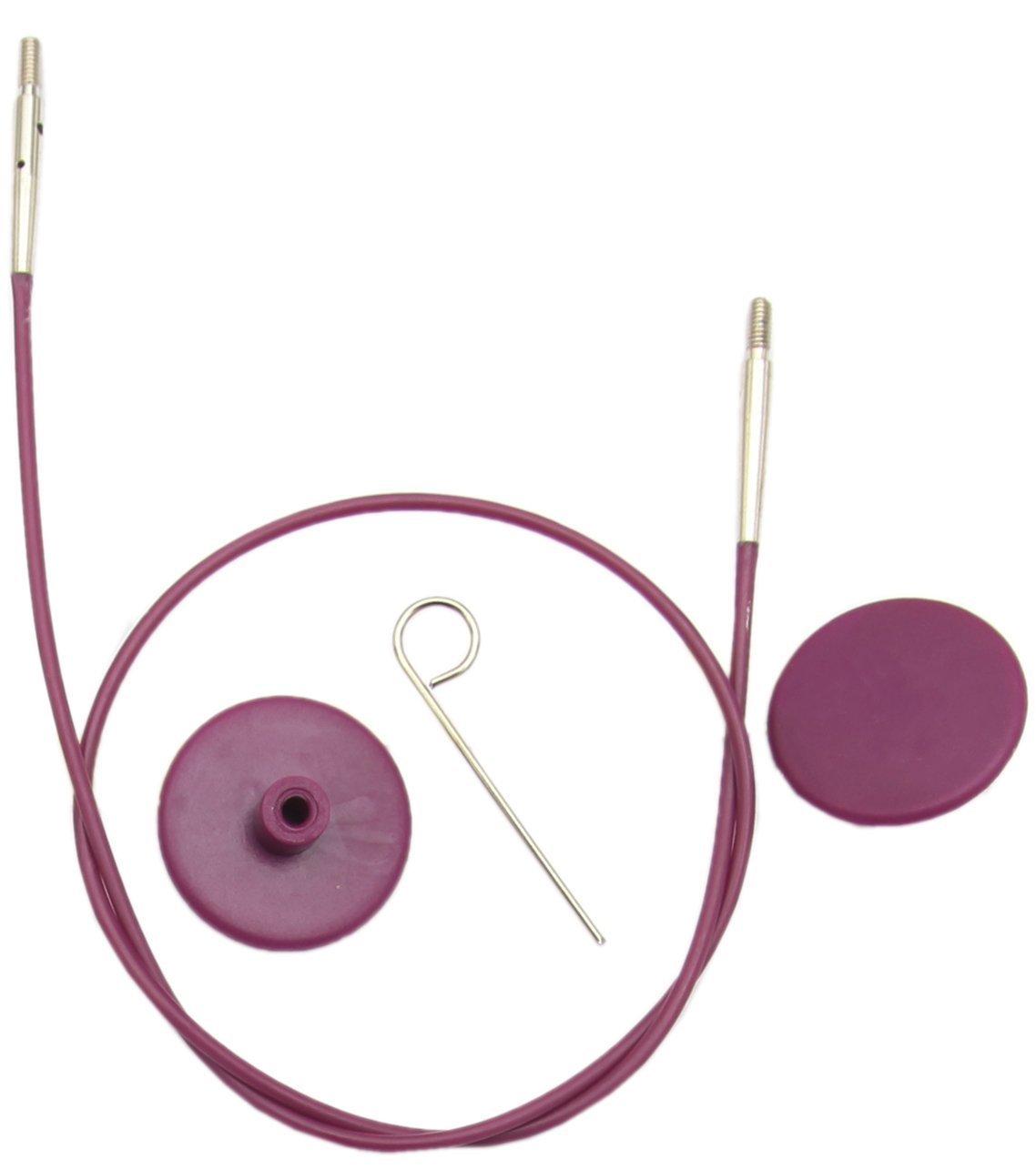 KnitPro Леска сменная Purple Silver 60 см 10501