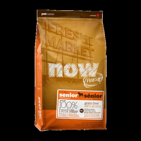 Now Fresh Holistic Senior Сухой корм для пожилых собак контроль веса с индейкой, уткой и овощами беззерновой