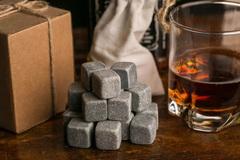 Камни для виски в деревянной коробке Wild West, 9 шт, фото 9