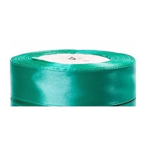 Лента атласная (размер:25мм х 25 ярдов) Цвет:бирюзовый