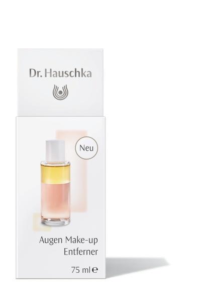 Очищающая двухфазная жидкость  для снятия макияжа с глаз Dr.Hauschka