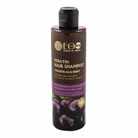 EO Laboratorie Шампунь для волос Кератиновый для Восстановления и роста 250 мл