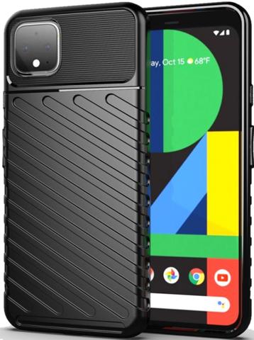 Чехол Google Pixel 4 XL цвет Black (черный), серия Onyx, Caseport