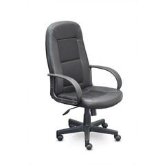 Кресло UP_Идра кожзам TR-118/ткань TW чёрная