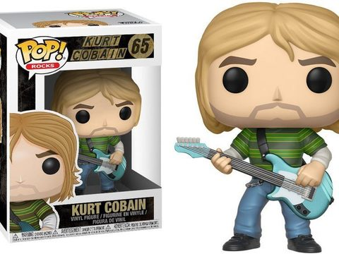 Фигурка Funko POP! Vinyl: Rocks: Kurt Cobain (Teen Spirit 24777