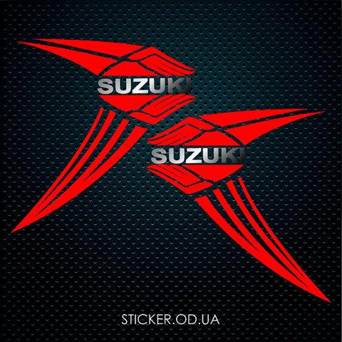 Набор наклеек Suzuki на боковой пластик