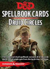 D&D Next: Spellbook Cards (Druid Circles)
