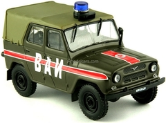 UAZ-469 VAI Military Vehicle Inspection USSR 1:43 DeAgostini Service Vehicle #8