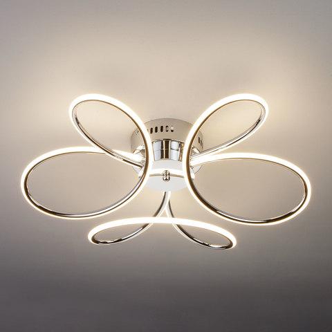 Светодиодный потолочный светильник 90083/3 хром