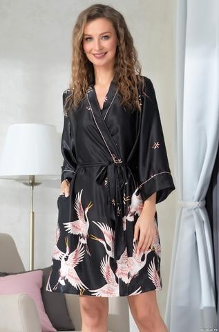 Короткий халат Mia-Amore Stefania 8783