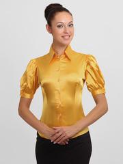 4143-2 блузка женская, золотистая