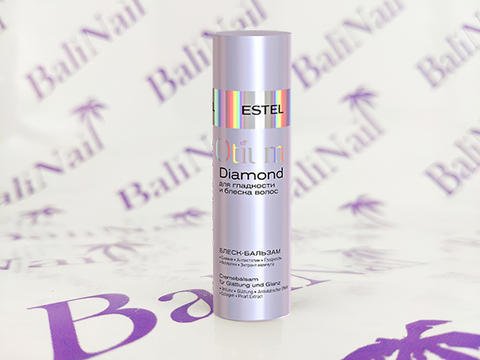 DIAMOND Блеск-бальзам для гладкости и блеска волос OTIUM, 200 мл