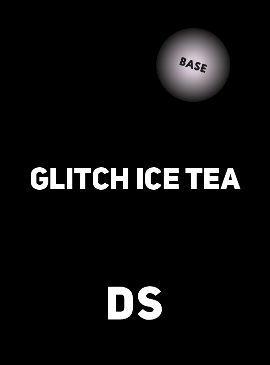 Аксессуар DS BASE GLITCH ICE TEA 250