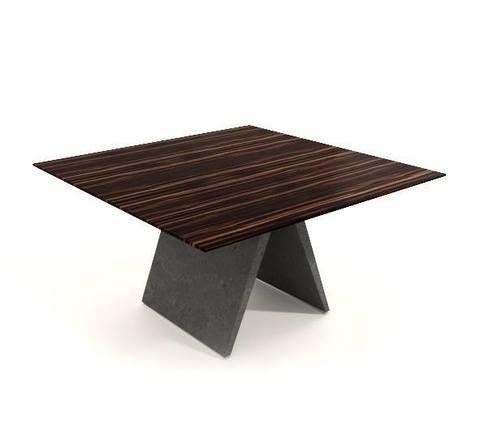 Pigreco стол для переговоров квадратный