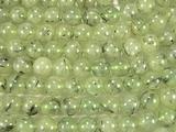 Нить бусин из пренита, шар гладкий 10мм