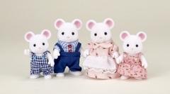 Семейка белых мышек Sylvanian families 4121 (3111)