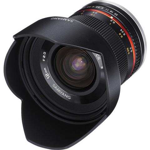 Объектив Samyang 12mm f/2.0 NCS CS для Fujifilm X