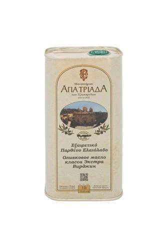 Оливковое масло греческое Agia Triada в жести 1 л с острова Крит
