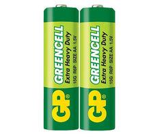 Батарейки GP 15G-S2 Greencell R6, АА, трей 40/200/1000