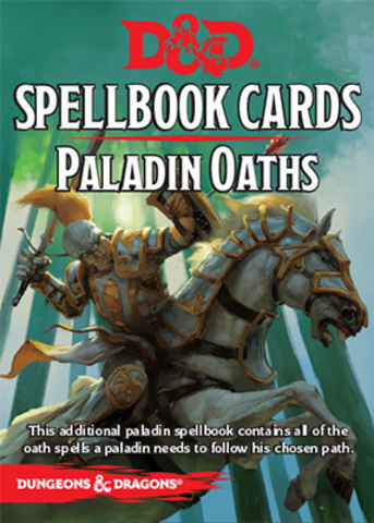 D&D Next: Spellbook Cards (Paladin Oaths)