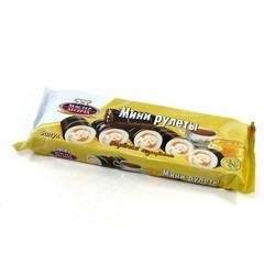 Рулет Мастер десерта Вареная сгущенка, глазированный 175 г мини