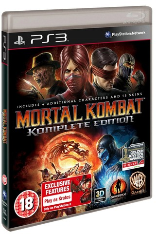 Mortal Kombat Komplete Edition (PS3, русская документация)